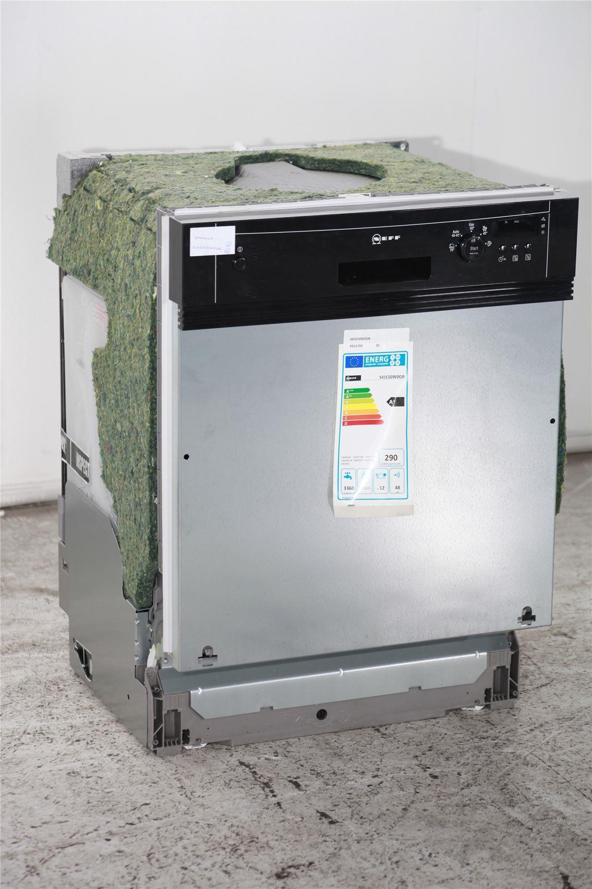 Neff Countertop Microwave : Neff Integrated Dishwasher - S41E50W0GB - Black & Silver Online ...