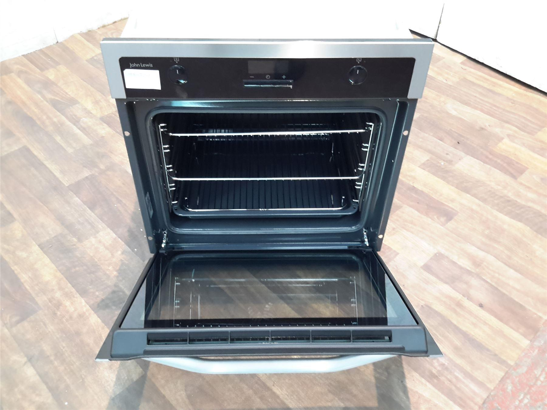John Lewis Kitchen Appliances John Lewis Jlbios622 Electric Multifunction Single Oven Black