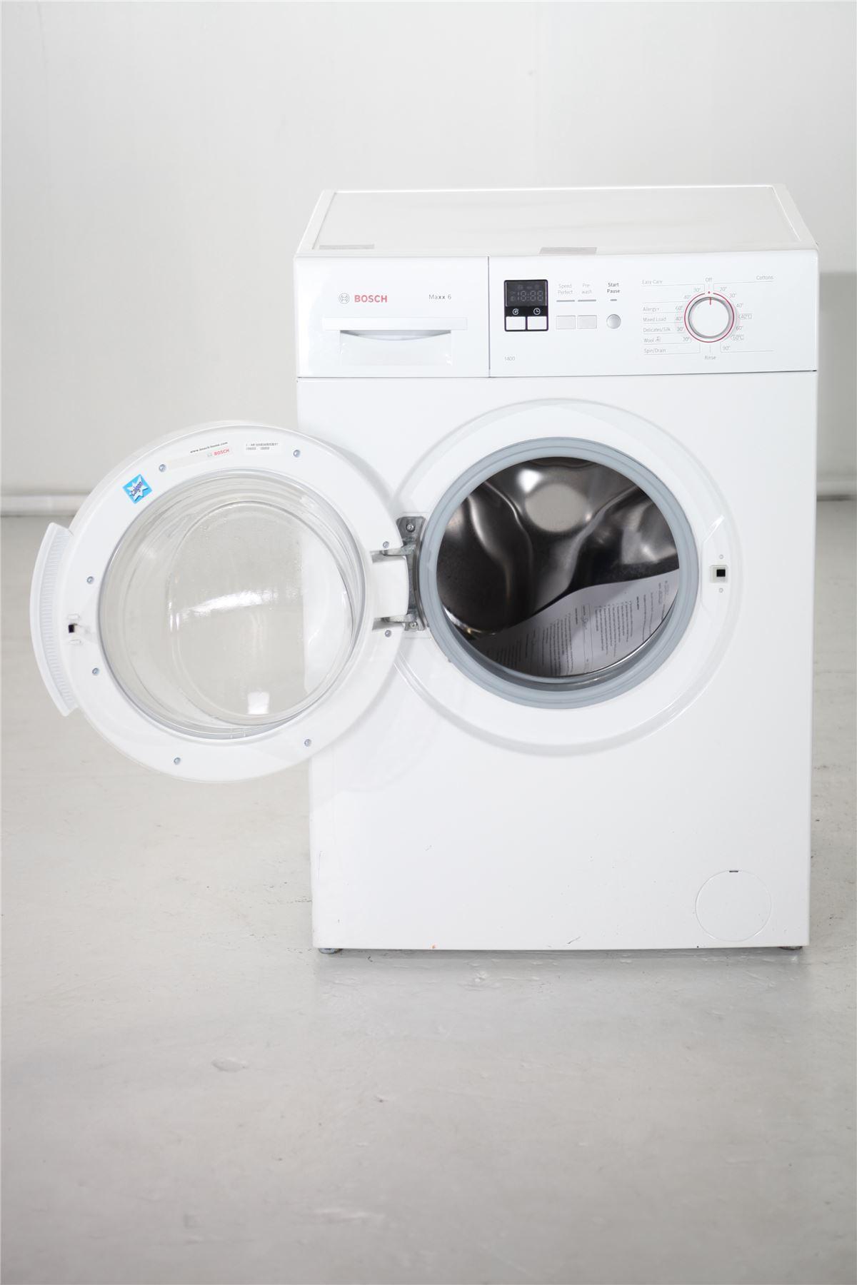 bosch maxx 6kg washing machine wab28161gb white. Black Bedroom Furniture Sets. Home Design Ideas