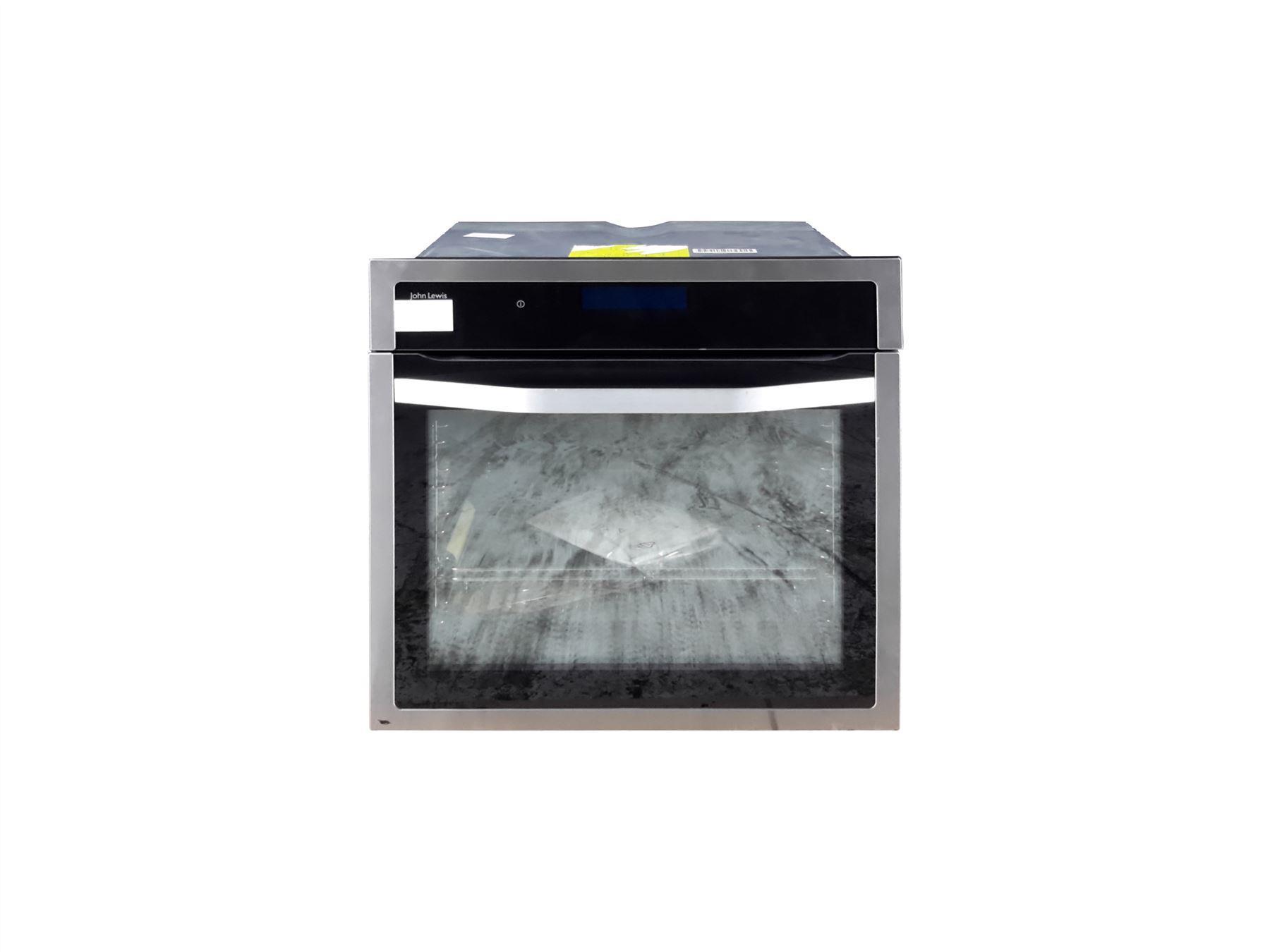 john lewis blf05 single oven black silver online store. Black Bedroom Furniture Sets. Home Design Ideas