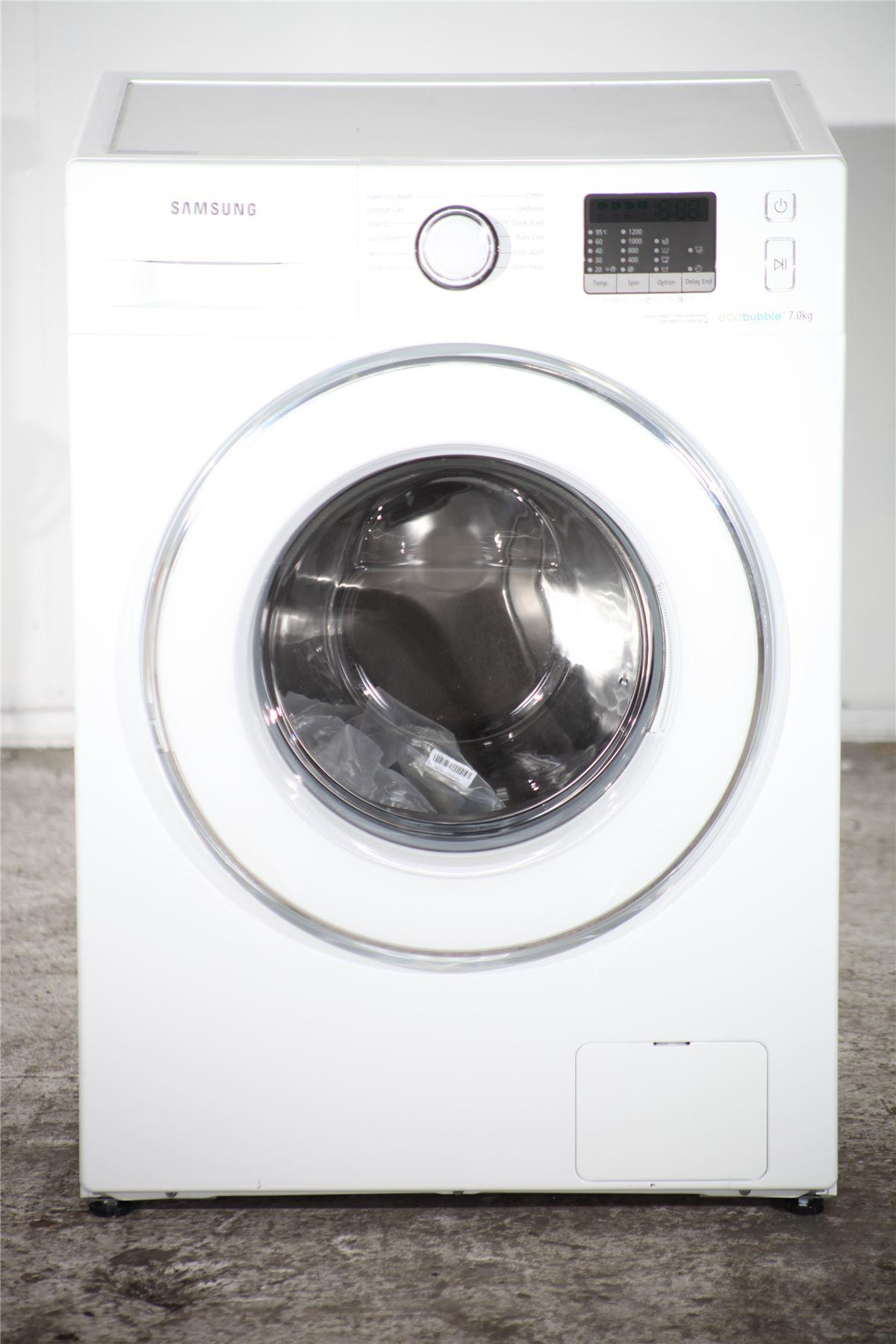 samsung 7kg washing machine eco bubble wf70f5e2w2w white online store. Black Bedroom Furniture Sets. Home Design Ideas