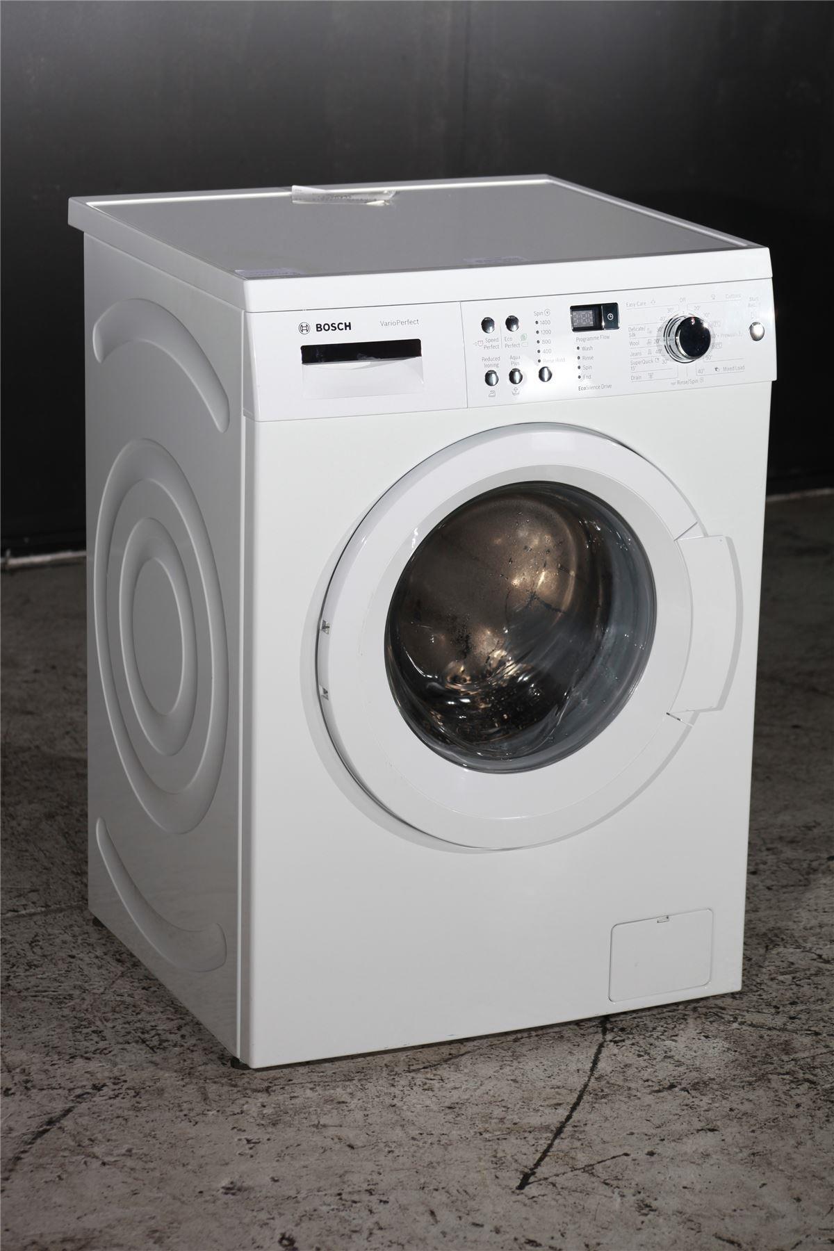 bosch serie 6 waq283s1gb 8kg washing machine white. Black Bedroom Furniture Sets. Home Design Ideas