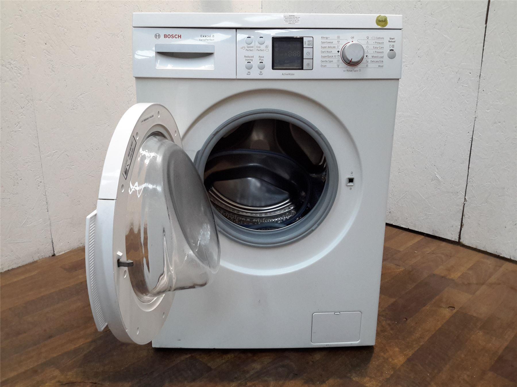 bosch waq28461gb freestanding 8kg capacity washing machine. Black Bedroom Furniture Sets. Home Design Ideas