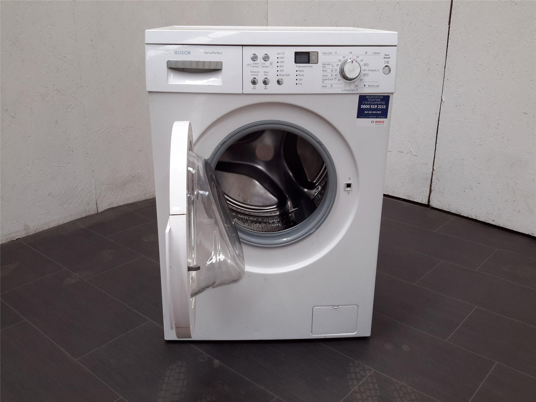 bosch waq283s0gb freestanding 8kg capacity washing machine. Black Bedroom Furniture Sets. Home Design Ideas
