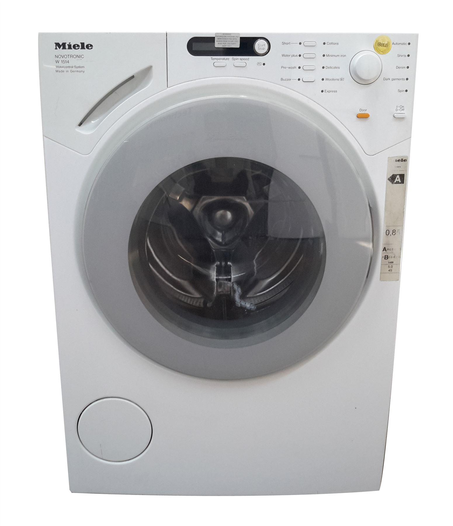 miele w1514 1400rpm 5kg washing machine online store. Black Bedroom Furniture Sets. Home Design Ideas