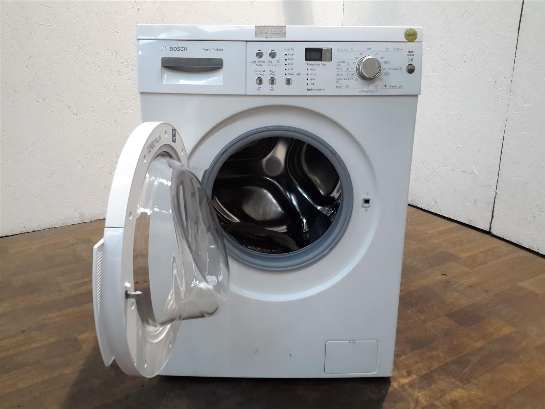 how to use bosch series 8 washing machine