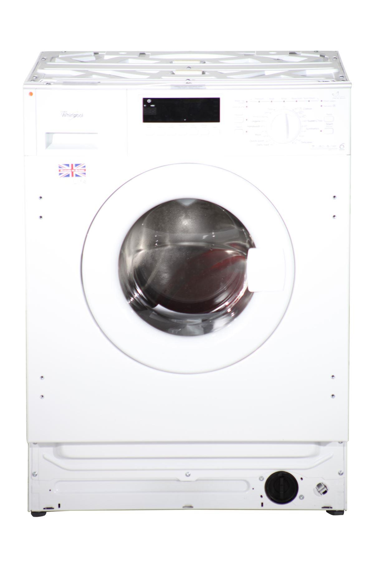 whirlpool integrated 7kg washing machine aw0 c 0714 white online store. Black Bedroom Furniture Sets. Home Design Ideas