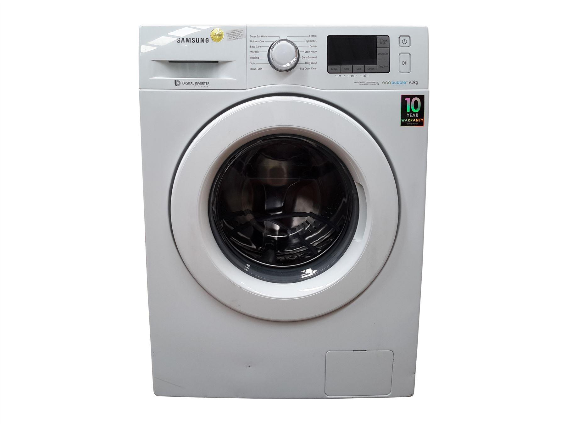 samsung ecobubble wf90f5e3u4w 9kg washing machine white online store. Black Bedroom Furniture Sets. Home Design Ideas