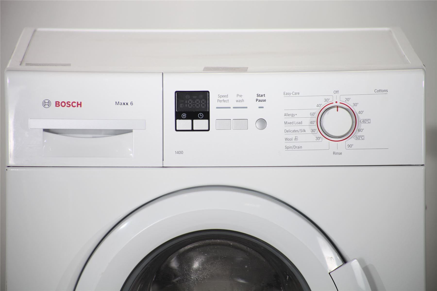 bosch maxx 6kg washing machine wab28161gb white online store. Black Bedroom Furniture Sets. Home Design Ideas