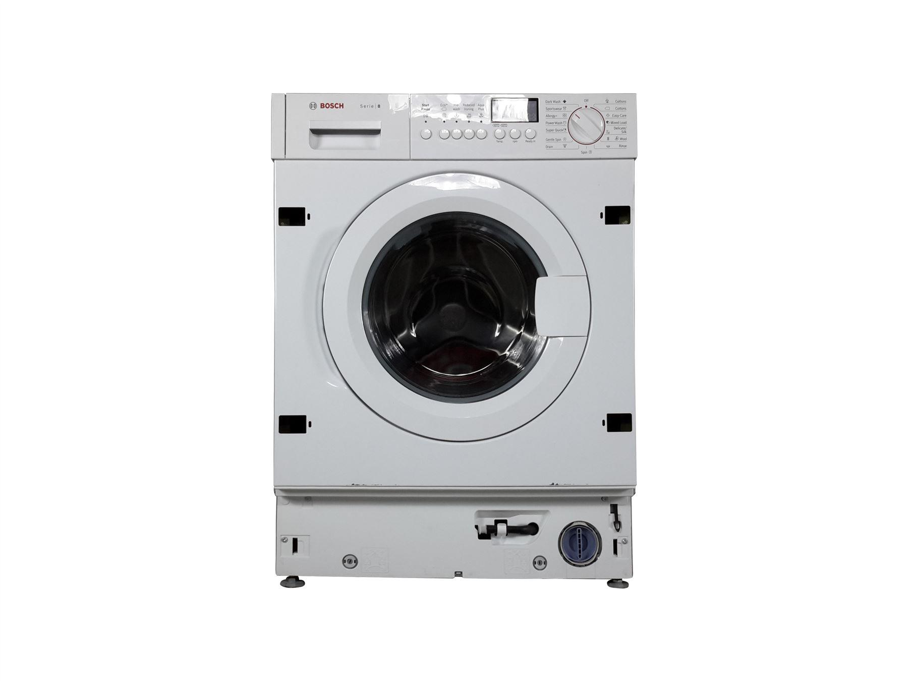 bosch serie 8 washing machine instructions