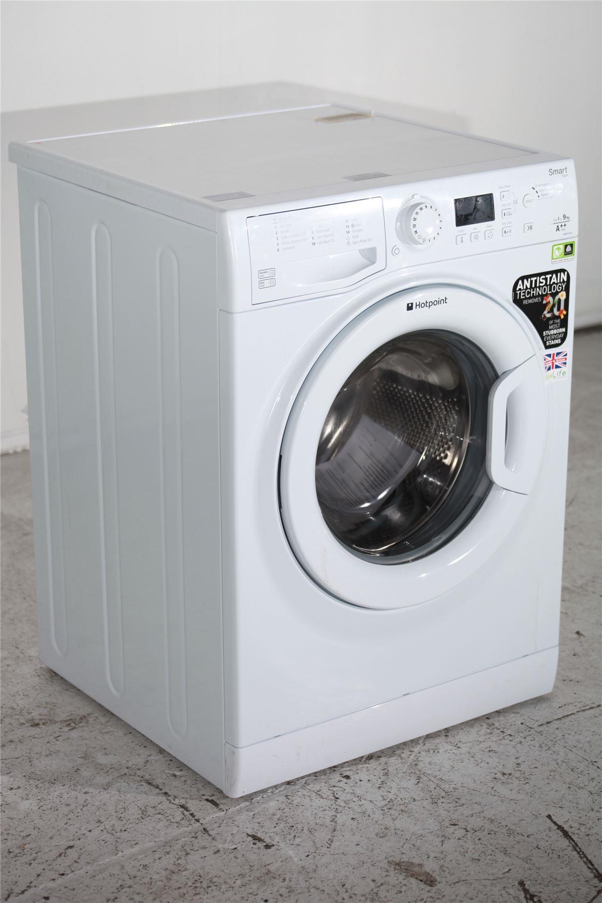 hotpoint 9kg washing machine wmfug942p white online. Black Bedroom Furniture Sets. Home Design Ideas