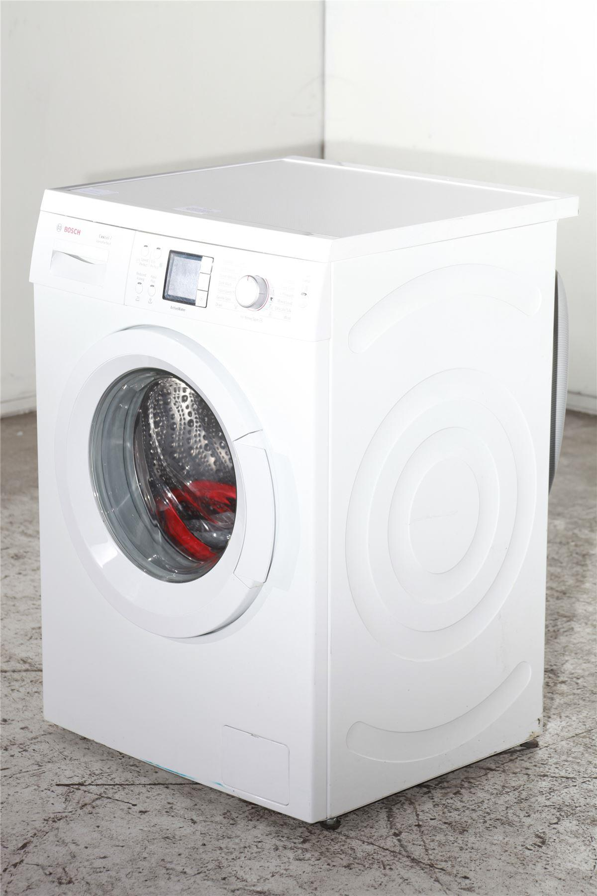 bosch exxcel 8 washing machine manual