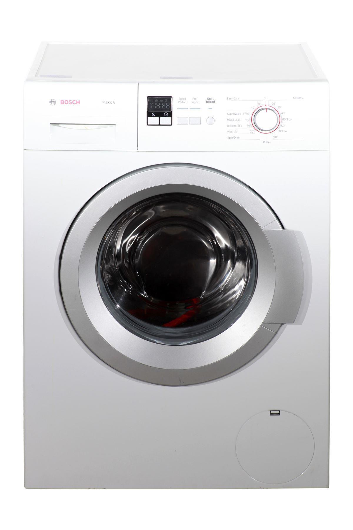 bosch maxx 8kg washing machine wak28160gb white. Black Bedroom Furniture Sets. Home Design Ideas