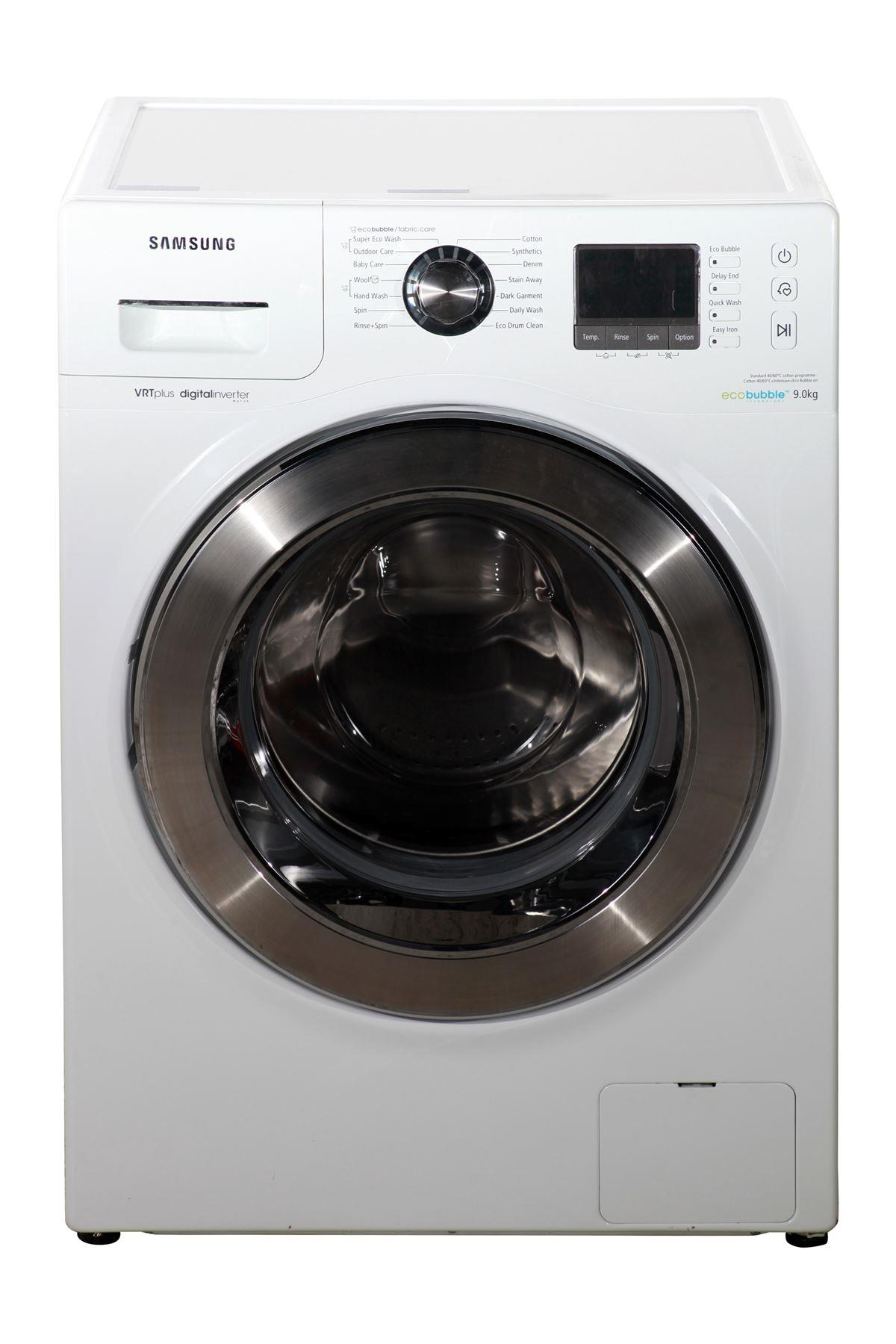 samsung ecobubble 9kg washing machine wf90f7e6u6w. Black Bedroom Furniture Sets. Home Design Ideas