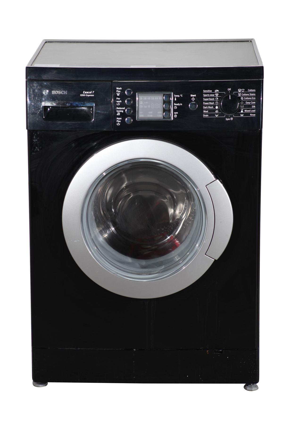 bosch 7kg washing machine wae2446buk black online store. Black Bedroom Furniture Sets. Home Design Ideas