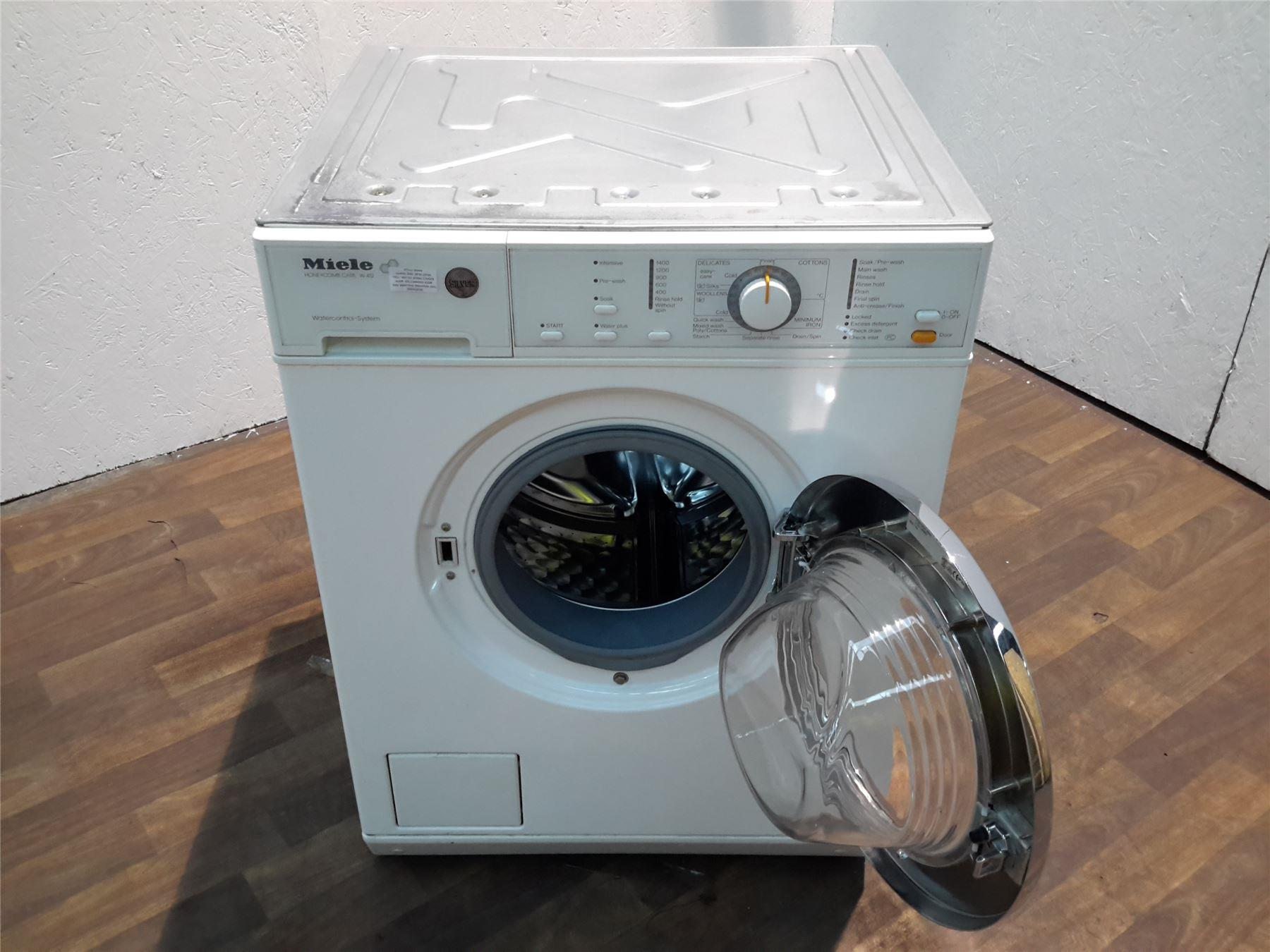 miele w412sm freestanding washing machine white online. Black Bedroom Furniture Sets. Home Design Ideas