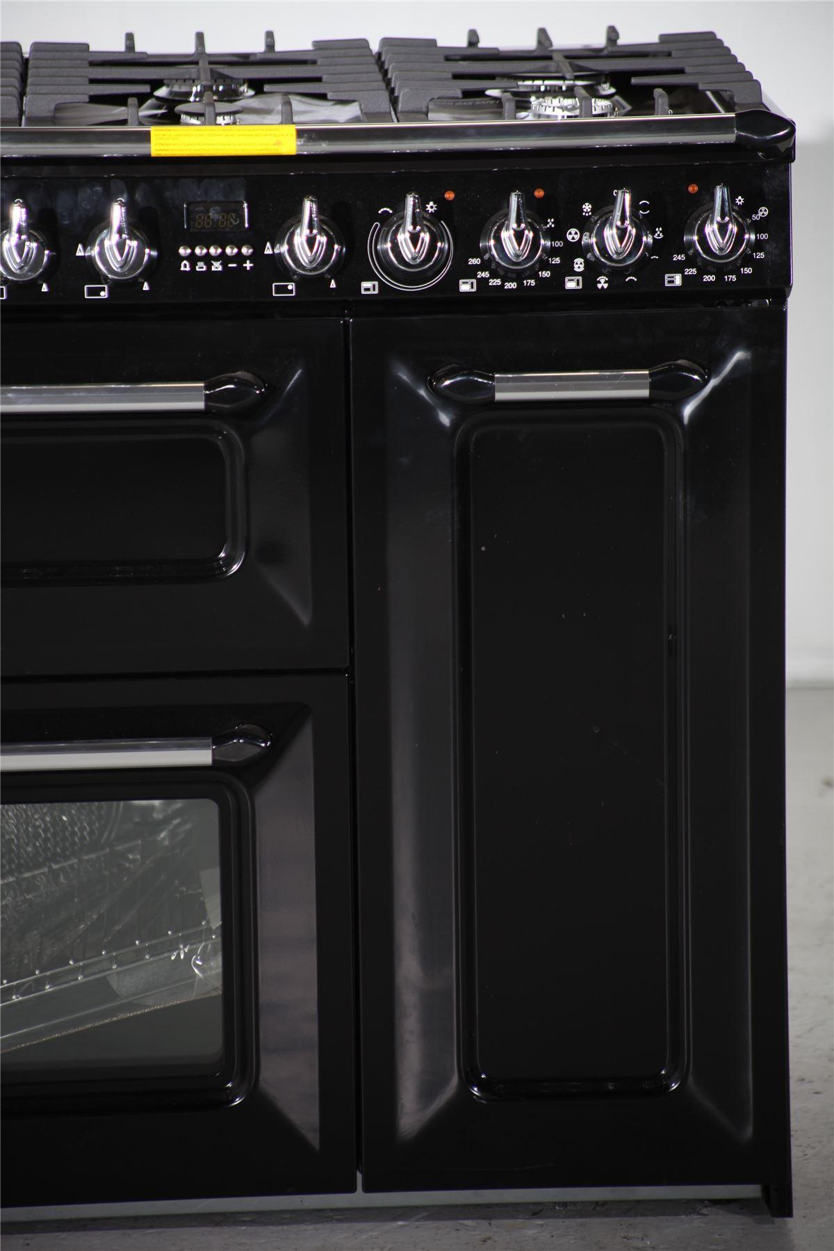 smeg dual fuel range cooker tr93 black online store. Black Bedroom Furniture Sets. Home Design Ideas