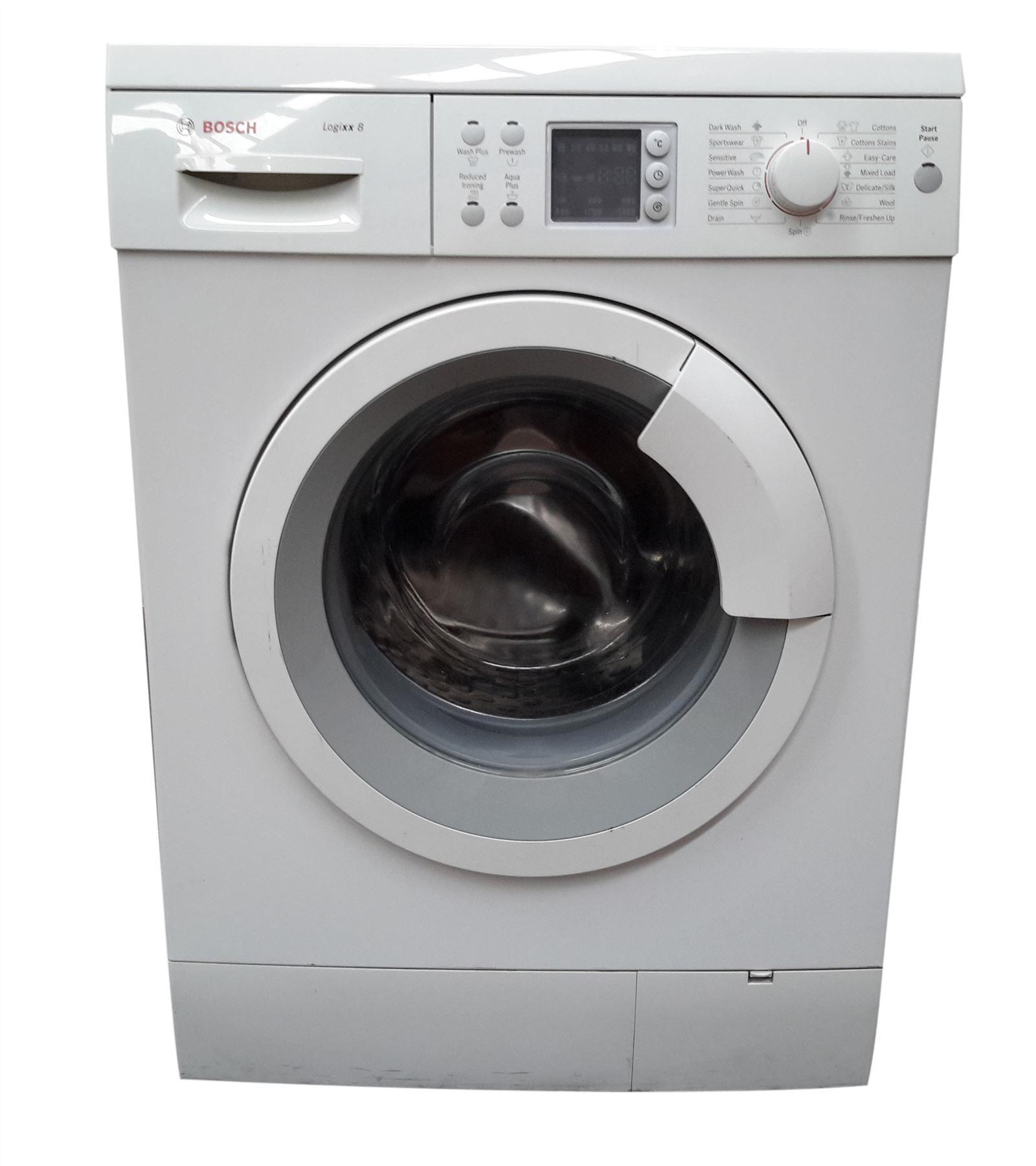 bosch was28466gb freestanding 8kg capacity washing machine. Black Bedroom Furniture Sets. Home Design Ideas