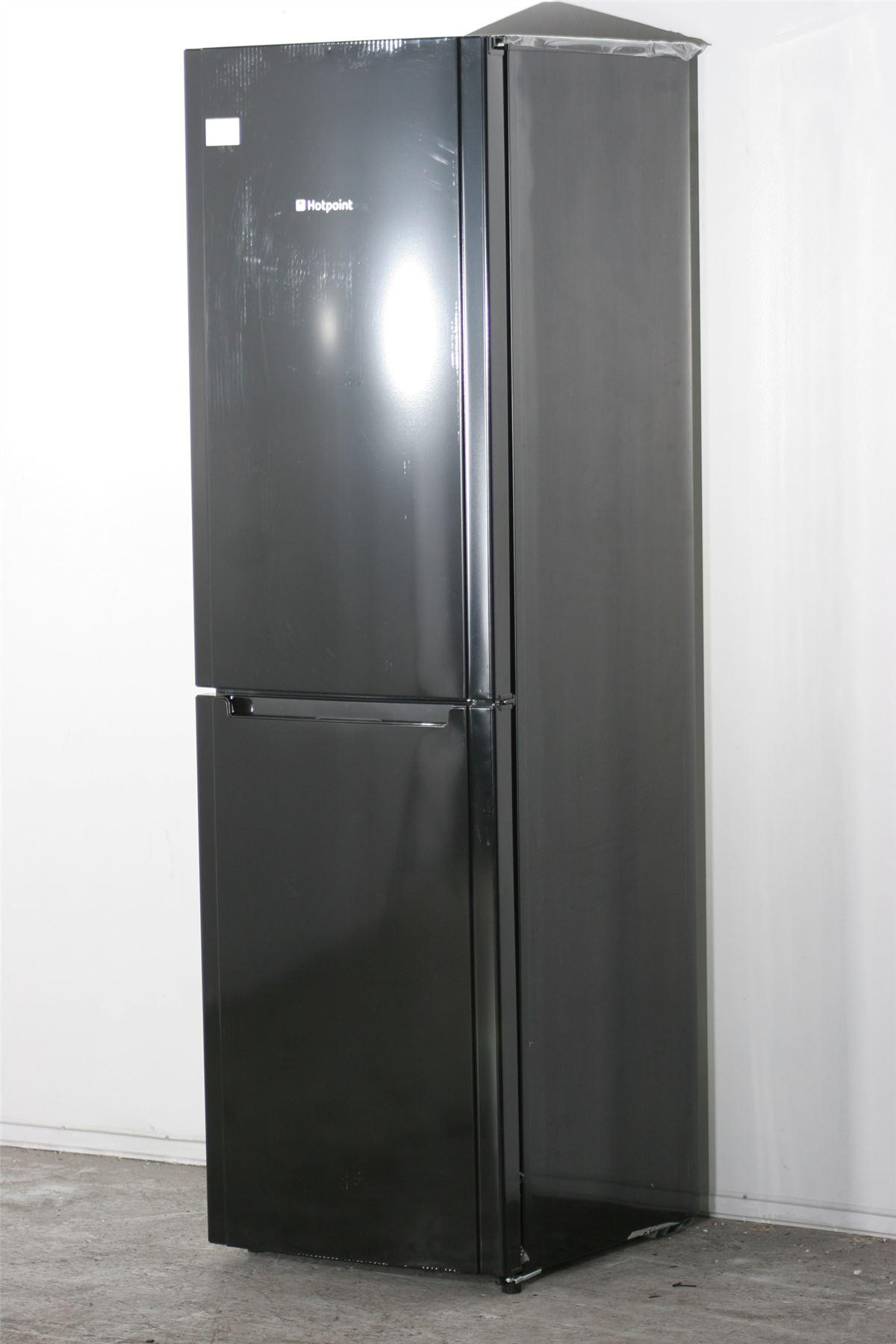 hotpoint fridge freezer fsfl58k black online store. Black Bedroom Furniture Sets. Home Design Ideas