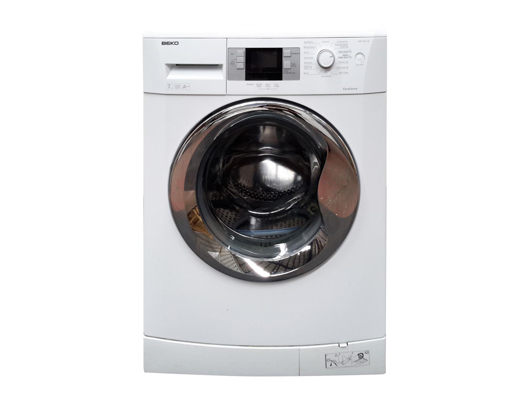 beko wm7043cw 7kg 1400rpm washing machine white online. Black Bedroom Furniture Sets. Home Design Ideas