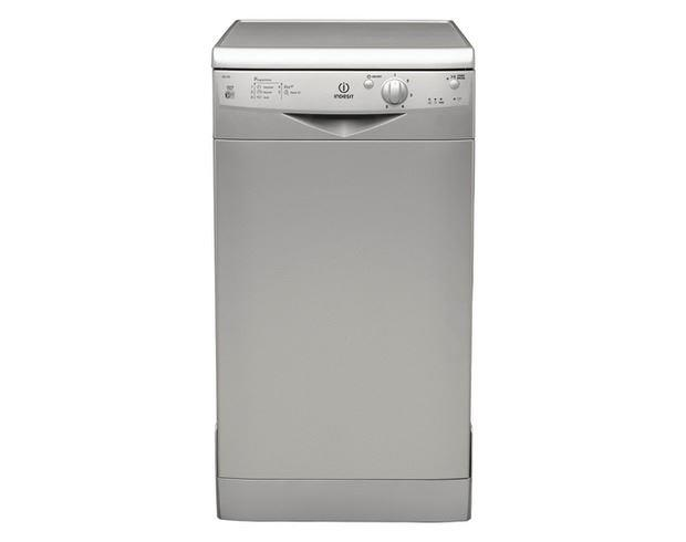 Countertop Dishwasher Indesit : Indesit IDS105S Freestanding 45cm wide Dishwasher Online Store