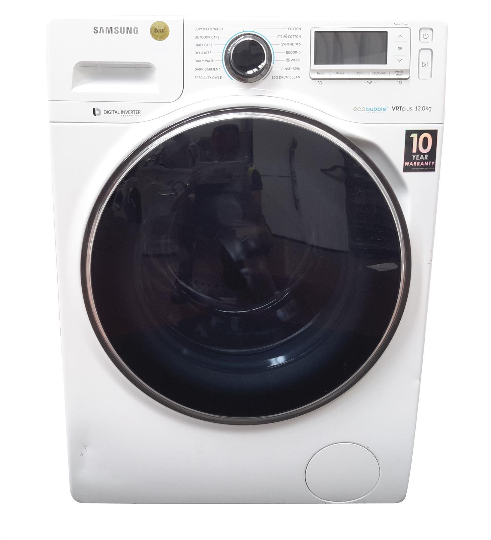 samsung blue washing machine