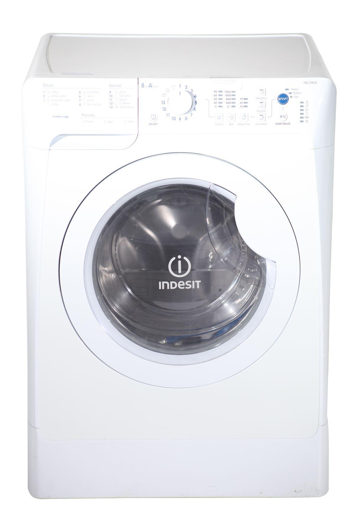 indesit 8kg washing machine pwc8148wuk white online store. Black Bedroom Furniture Sets. Home Design Ideas
