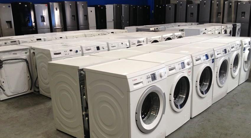 graded washing machines
