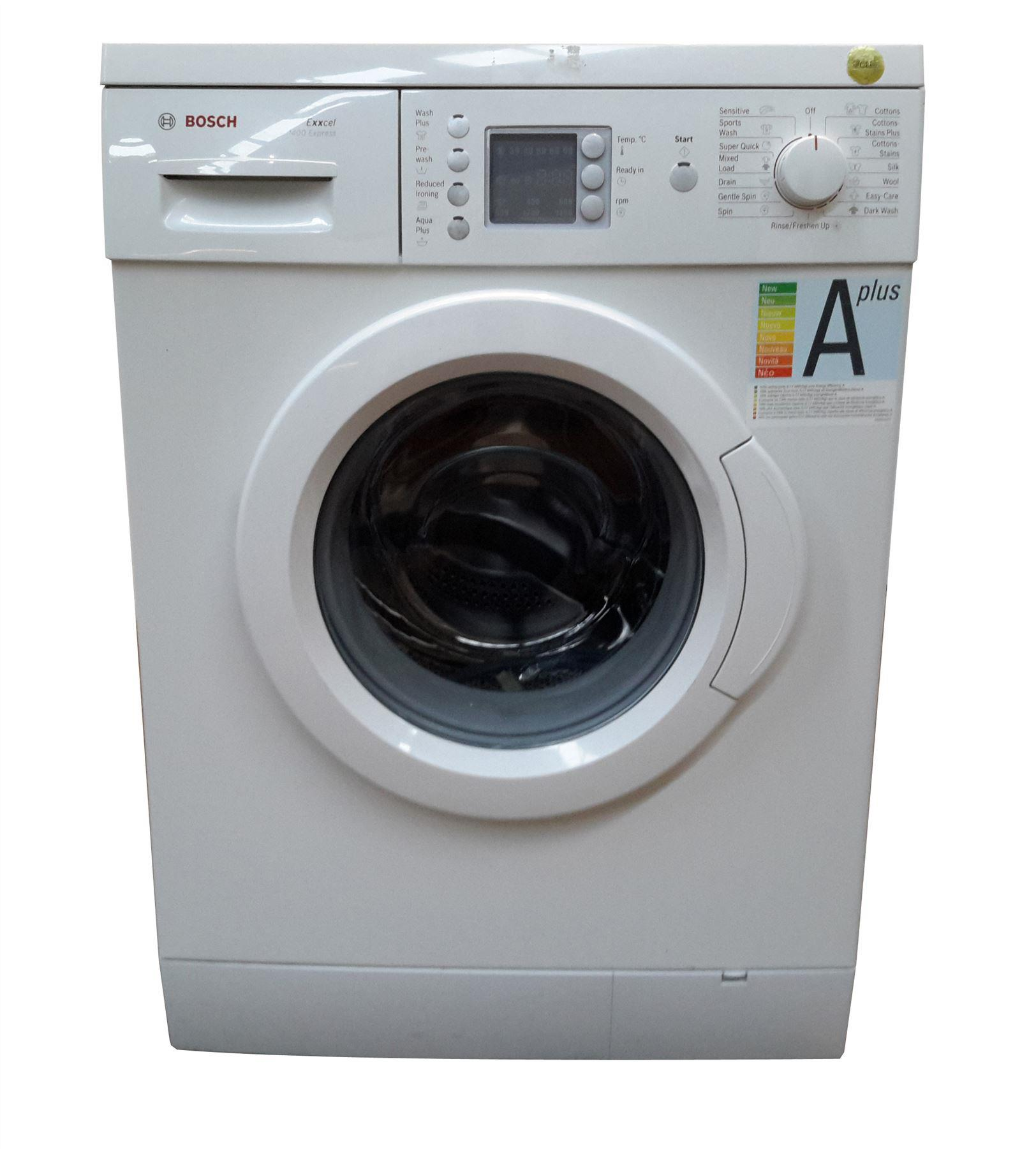 wae28465gb bosch exxcel 1400 washing machine white online store. Black Bedroom Furniture Sets. Home Design Ideas