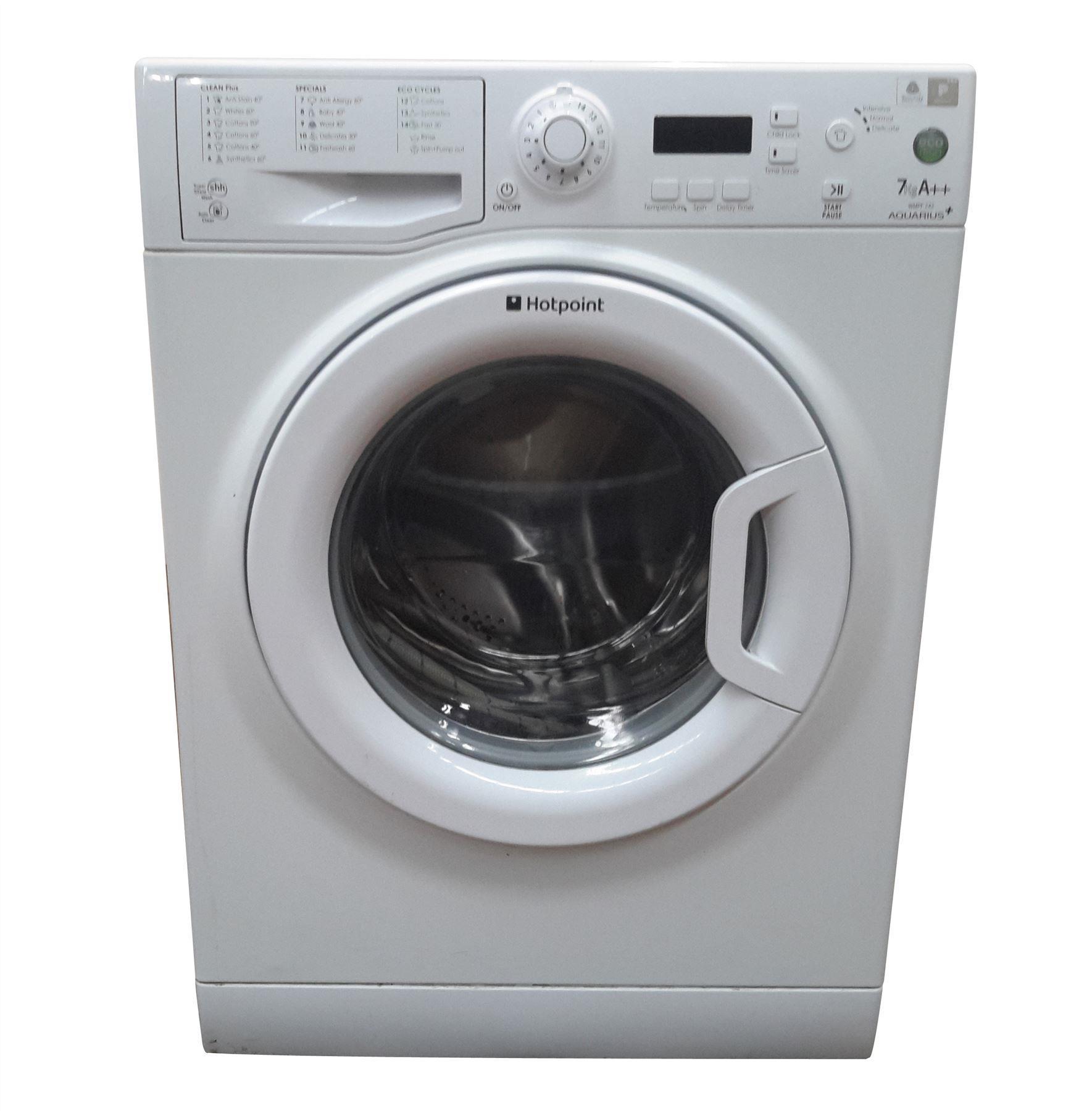 Hotpoint Wmpf742 Freestanding 7kg Capacity Washing Machine