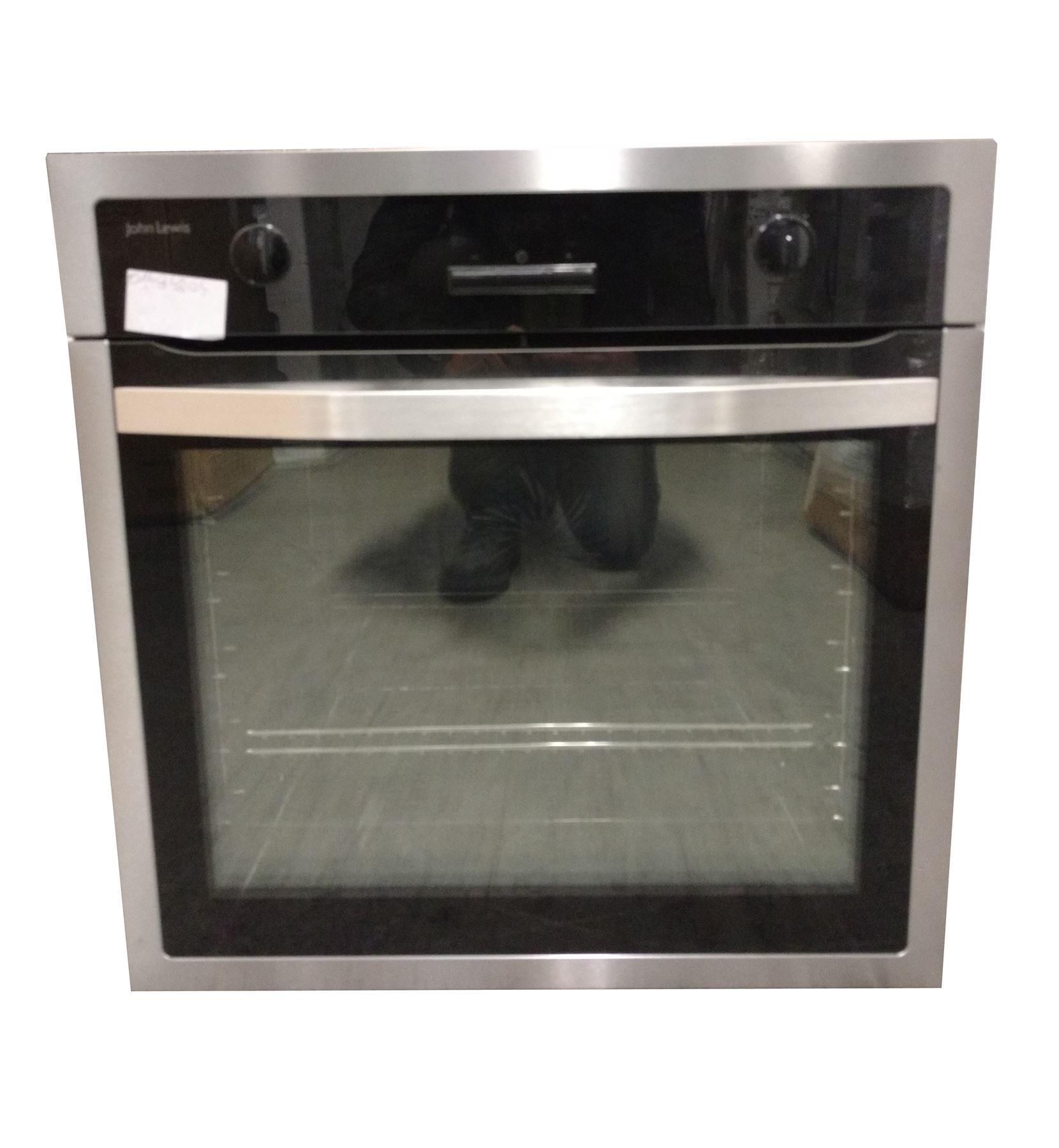 john lewis jlbios616 single oven stainless steel online. Black Bedroom Furniture Sets. Home Design Ideas