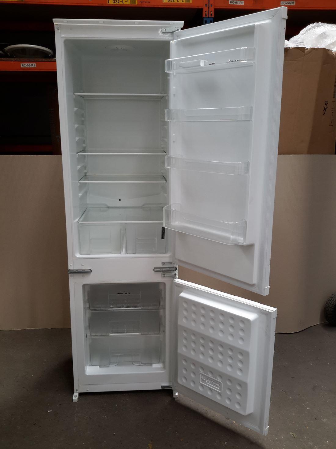 belling bel bstat7030 integrated fridge freezer white. Black Bedroom Furniture Sets. Home Design Ideas