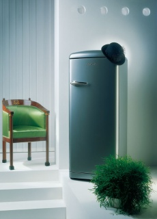 Gorenje retro fridge